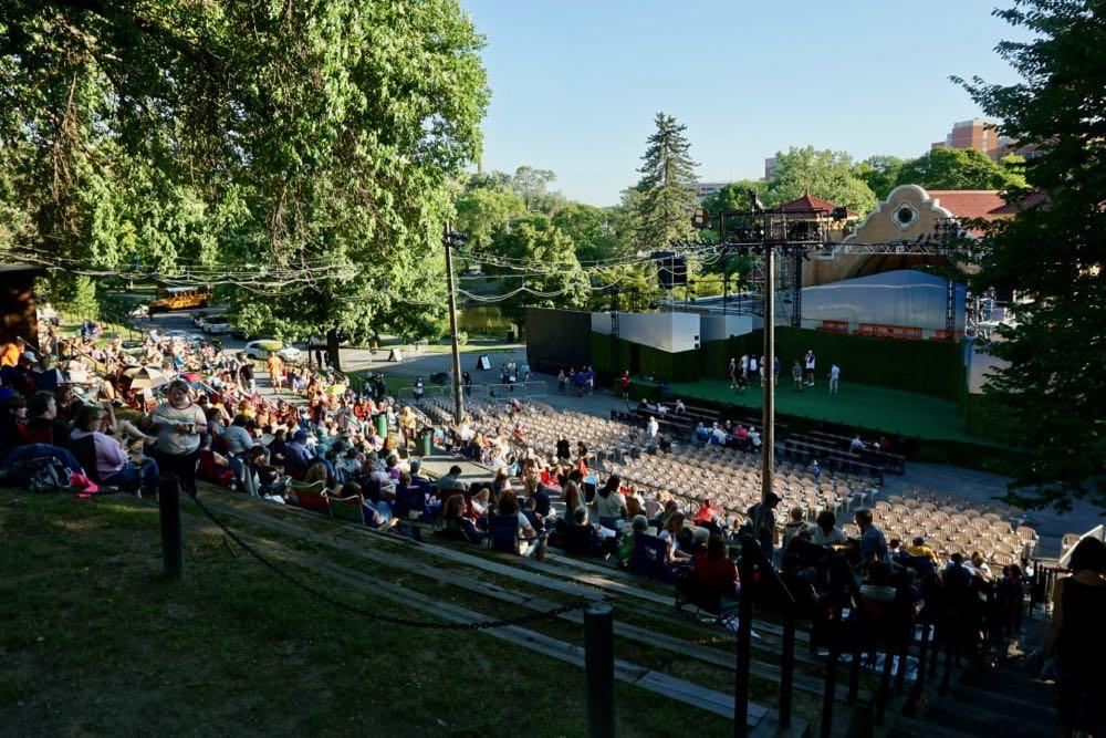 Washington Park Lakehouse amphitheater 2018-summer