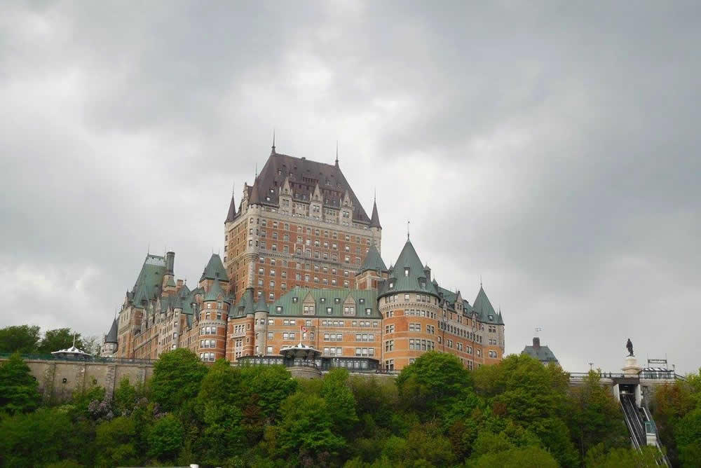 Weekend Destination Quebec Chateau Frontenac
