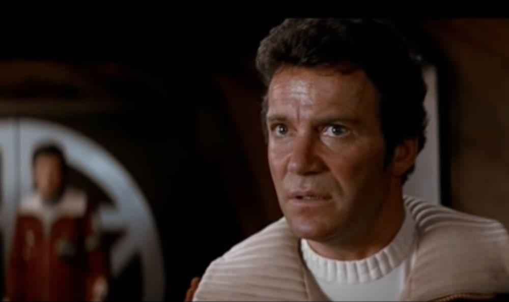 William Shatner Wrath of Khan