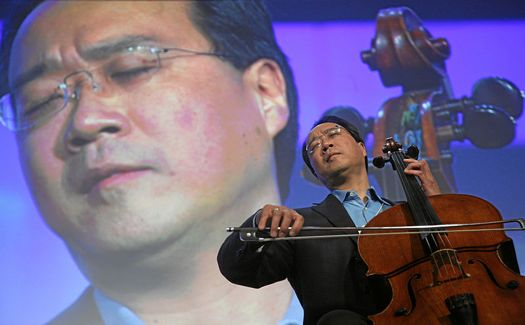 Yo-Yo Ma  Credit- World Economic Forum