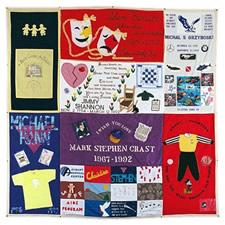 aids memorial quilt  Block 2721