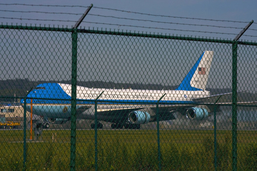 air force one taxi