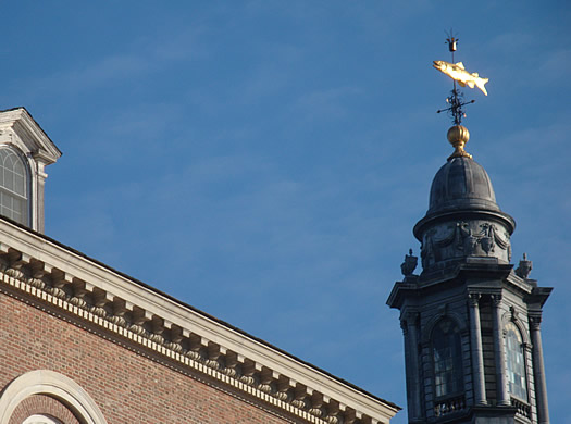albany academy fish weathervane