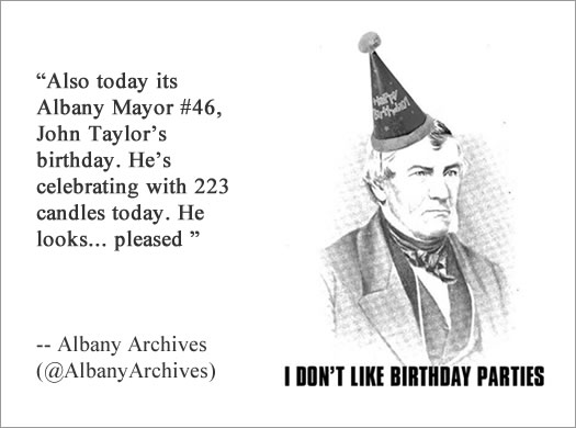 albany archives john taylor birthday quote