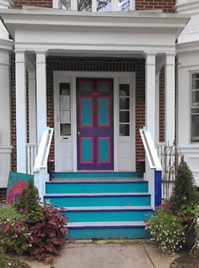 albany art room new scotland ave door