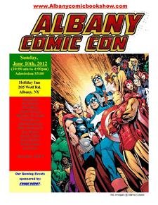 albany comic con poster 2012