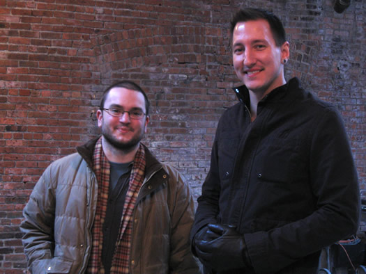 albany distilling founders John Curtin and Matthew Jager