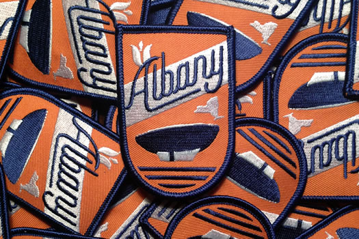 albany embroidered patch