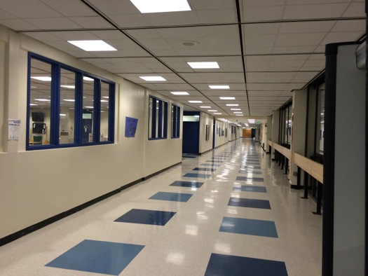 albany high school hallway