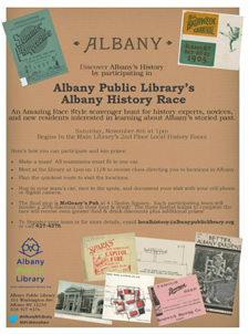 albany history race 2014 poster