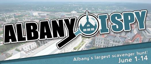 albany i spy logo