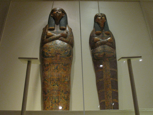mummy coffin lids