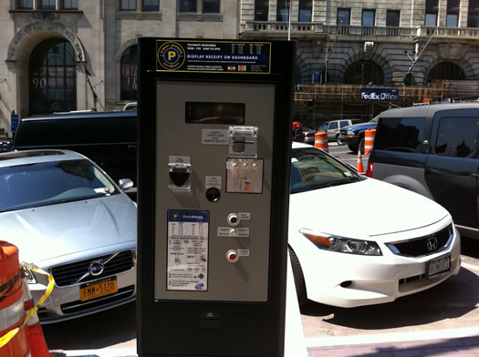 albany parking pay and display meter