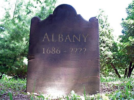 albany tombstone