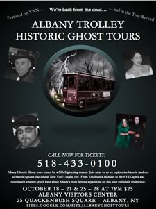 albany trolley historic ghost tours 2012