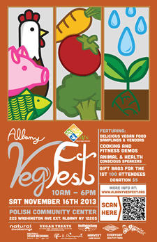 albany vegfest 2013 poster