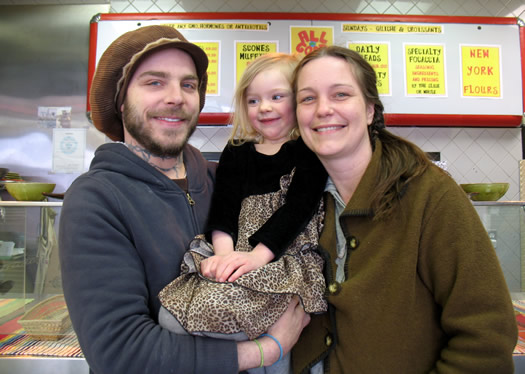 Nick and Britin Foster, with their daughter