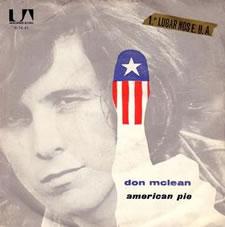 american pie album cover don mclean