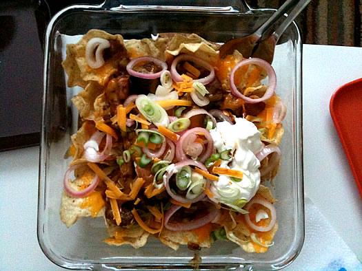 ancho chili nachos