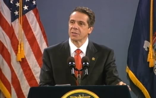 andrew cuomo 2013 state of the state screengrab