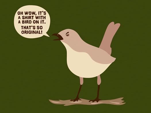 andrew gregory woot Mocking Bird
