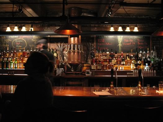 Brown's Malt Room bar