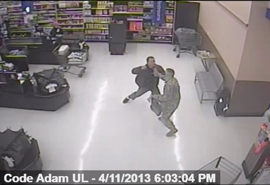 apd walmart assault video 2013-04-11