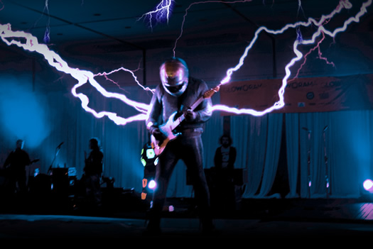 arcattack tesla coil music