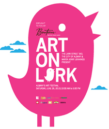 art on lark 2010 logo