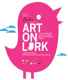 art on lark 2010 logo