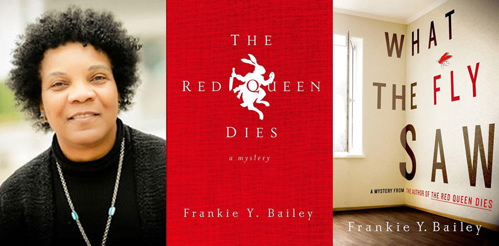 author Frankie Bailey Red Queen What Fly Saw