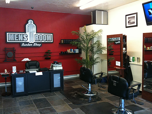 Simple House Design Ideas: Modern Barber Shop Interior