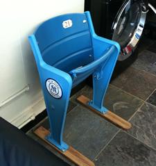 barber poll mensroom yankee seat