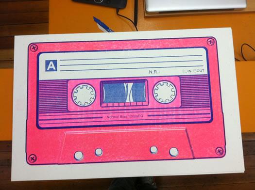 benkn cassette tape card