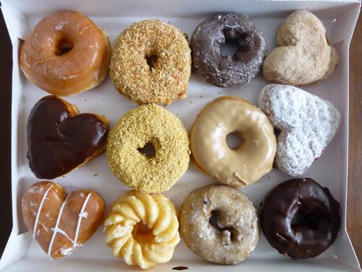 Dunkin Donuts in box