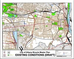 bike plan draft map