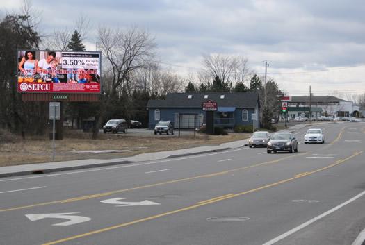 billboard art project site Fuller Road