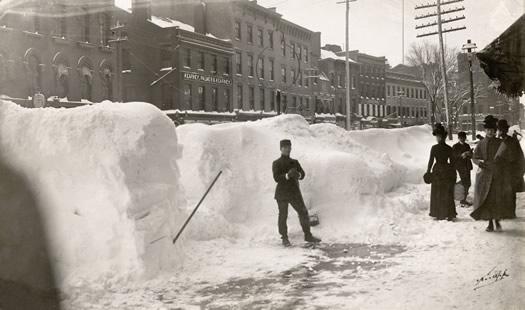 blizzard 1888 Pearl Street Albany