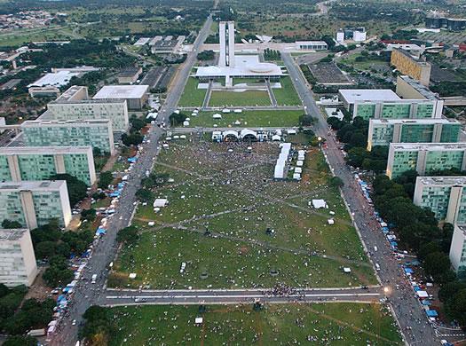 brasilia overhead