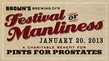 browns festival of manliness 2013 logo