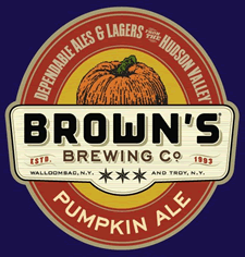 browns pumpkin ale label