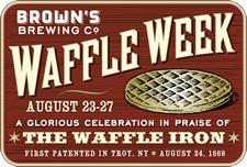 brows waffle week logo