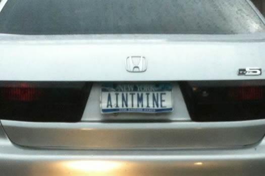 bumper gawking AINTMINE
