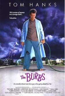 burbs movie poster