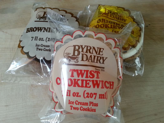 byrne dairy ice cream sandwiches
