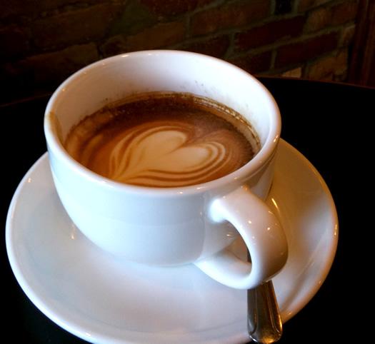 caffe vero macchiato in cup