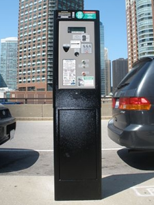 cale pay display parking meter