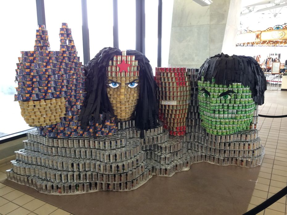 Canstruction 2015 All Over Albany