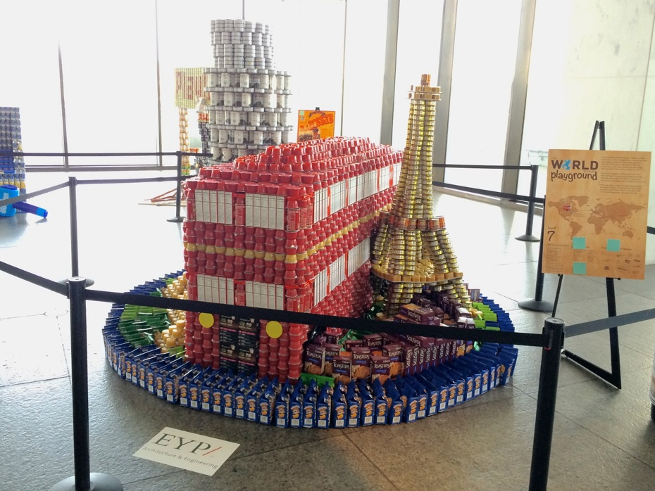 Canstruction 2016 All Over Albany