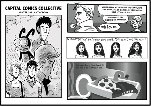 capital comics collective composite